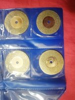 Used Diamond cutting disc set 10 pcs 30mm in Dubai, UAE