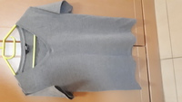 Used Ladies T-shirt new grey in Dubai, UAE