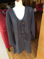 New with tags large size long top
