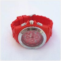 Red Techno Marine watch