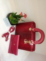 Used Christian Dior ladies bag Red in Dubai, UAE