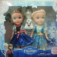 Used Frozen & Frozen Fever Elsa, Anna & Olaf in Dubai, UAE