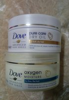 Dove hair creams