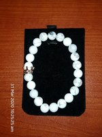 anti stress bracelet white