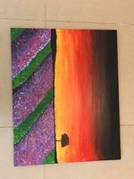 Used Canvas Acrylic painting in Dubai, UAE