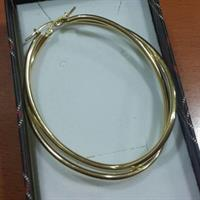 Used 18k REAL Gold Hoop Earring in Dubai, UAE