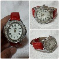 Red CHANNEL watch for lady