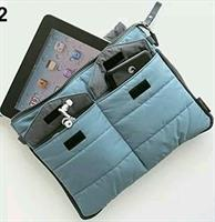 Portable carry storage nylon bag zip organizer.