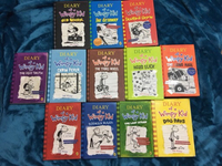 Used Wimpy Kid 12 books  in Dubai, UAE
