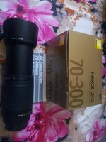 Used Nikon AF 70-300mm telephoto zoom lens in Dubai, UAE