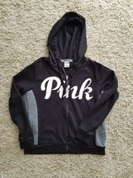 Used Pink VS Large jacket in Dubai, UAE