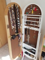 Used Jewlery cabinet with mirror in Dubai, UAE