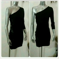 Used New black short Dress for her in Dubai, UAE