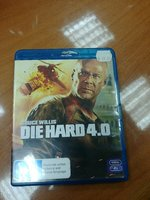 Used Die hard 4 Bluray in Dubai, UAE