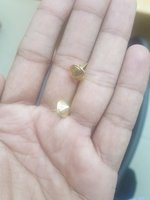 Used Gold Earing 18k in Dubai, UAE