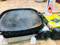 Used Korean Grill Pan and Portable Stove in Dubai, UAE