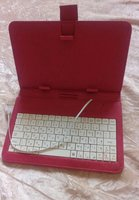 Used Beautiful ipad cover with keyboard in Dubai, UAE