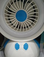 Used Rechargeable Desk lamp fan 2 in 1 in Dubai, UAE