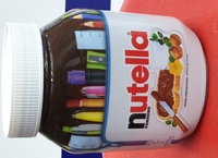 Used Nutella Ferrero chocolate 825gm in Dubai, UAE