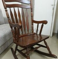 Used Wooden porch rocking chair in Dubai, UAE