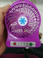 Fan Portable Mini Size Emergency LED New