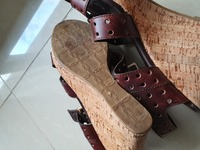 Used Bally Brown leather shoes in Dubai, UAE