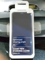 Used Samsung s9 plus clearview standing cover in Dubai, UAE