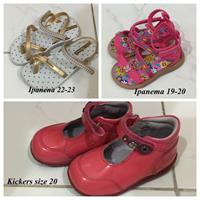 Used Girls Shoe And Sandals 3 Pcs in Dubai, UAE