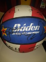 Used Harlem globe trotters signed whole team in Dubai, UAE