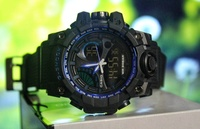 Used 》CASIO G-Shock Dual Time Watch▪︎□✅BOX in Dubai, UAE