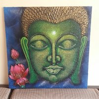 Used Devine Buddha - Original canvas painting in Dubai, UAE