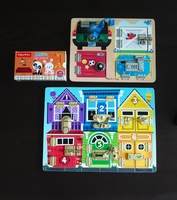Used Melissa & Doug Wooden Puzzles in Dubai, UAE