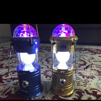 Used 2 Pieces 4 In 1 Just For 95dhs#Led#disco#portable#360 Led Light in Dubai, UAE
