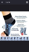 Used Buy 1 get 1 foot angel compression socks in Dubai, UAE