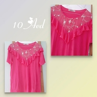 Used Pink cute Shirt in Dubai, UAE