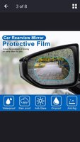 Used Waterproof film for your car side mirror in Dubai, UAE