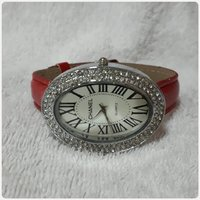 Used Red CHANNEL watch for lady. in Dubai, UAE
