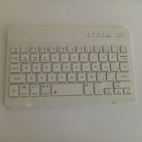 Used Wireless phone keyboard white in Dubai, UAE