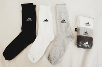 Used Original Adidas Socks (3 colors) in Dubai, UAE