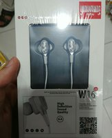Used Yinwoking W16 Earphone New Pack Silver in Dubai, UAE