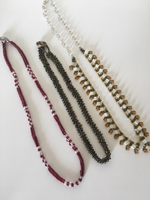 Handmade beaded necklaces