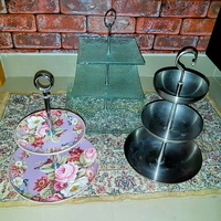 Cake or Accessories Stand (3 sets)