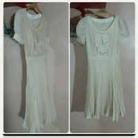 Used Brand New biege Dress for her.. in Dubai, UAE