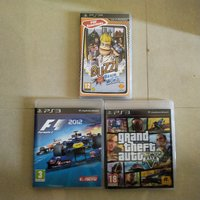 Used 2 PS3 games + 1 PSP game - used in Dubai, UAE