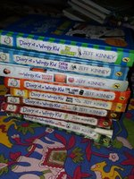 Used Wimpy kid books in Dubai, UAE