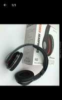 Used Bluetooth stereo headset black in Dubai, UAE
