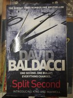 Used Book split second by David Baldacci in Dubai, UAE