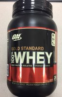 Used Optimum Nutrition Gold standard whey in Dubai, UAE