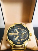 Used DIESEL Golden Watch in Dubai, UAE