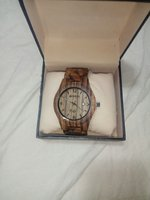 Used BEWELL Men Wood Watch quartz in Dubai, UAE